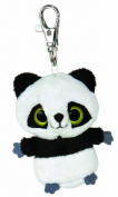 Aurora World 7.6cm Yoohoo and Friends Ring Ring Panda Mini Key Clip