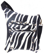 PROFESSIONAL HAIRDRESSING CUTTING BARBER SALON SCISSORS POUCH HOLDER HOLSTER BAG ZEBRA FREE UK DELIVERY