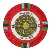 Bry Belly CPGR-$5 25 Roll of 25 - Gold Rush 13.5 Gramme - $5