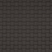 Designer Fabrics G658 140cm . Wide Brown Basket Woven Upholstery Faux Leather