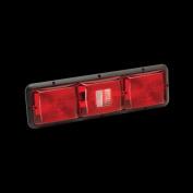 BARGMAN 3084103 Triple Tail Lights Horizontal Light Red