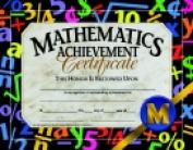 Hayes 22cm x 28cm . Math Achievement Certificate Pack 30