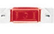 Peterson Mfg 10715R Turn Signal-Parking-Side Marker Light Lens Red