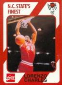 Lorenzo Charles Basketball Card (N.C. North Carolina State) 1989 Collegiate Collection No.69