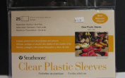 Strathmore 105-100 Clear Plastic Sleeves 25 Pack
