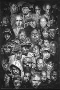 Hot Stuff Enterprise Z155-24x36-NA Rap Gods Poster 24 x 36
