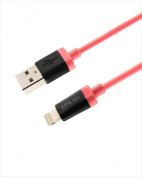 Spark Electronics SPMFIRE Mfi 8 Pin Lightning To USB Sync Cable Red