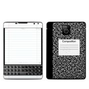 DecalGirl BBPP-COMPNTBK BlackBerry Passport Skin - Composition Notebook