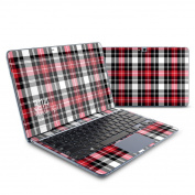 DecalGirl SATV-PLAID-RED for for for for for for for for for for Samsung ATIV Smart PC 500T Skin - Red Plaid