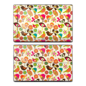 DecalGirl MISP-BIRDFLOWERS Microsoft Surface Pro Skin - Bird Flowers