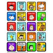 Eureka EU-655055 Peanuts Motivational Theme Stickers