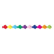 HYGLOSS PRODUCTS INC. HYG33630 MULTI colour FISH DIE CUT CLASSROOM