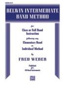 Alfred 00-EL00269 Belwin Intermediate Band Method