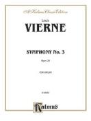 Alfred 00-K09965 VIERNE-SYMPHONY 3-ORGAN