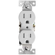 Cooper Wiring TR270W Tamper Resistant Duplex Receptacle White