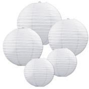 Beistle 54557-W Paper Lantern Assortment Pack Of 6