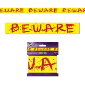 Beistle 00141 Beware Party Tape - Case of 12