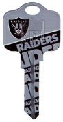 Kaba KCKW1-NFL-RAIDERS 10cm x 0.6cm . NFL Raiders Team Key Blank Pack Of 5