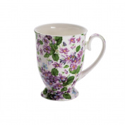 Maxwell & Williams Royal Old England S56961 Cup Oval with Violet Design Packaged in Gift Box