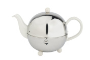Bredemeijer 1.3 L Ceramics/ Stainless Steel Teapot Cosy, White