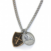 UPM Global LLC 12492 Horse and Shield Mens Necklace