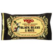 Vigo Completely Seasoned Black Rice and Beans & amp;#44; 240ml & amp;#44; - Pack of 12
