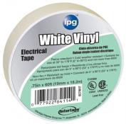 Intertape .13cm . x 18m White Vinyl Electrical Tape 85828