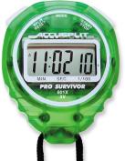 Accusplit A601XLM Pro Survivor Stopwatch with Lime Case