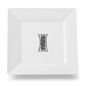 Carolines Treasures CJ1059-ISP115 Letter I Initial Monogram Celtic Square Ceramic Platter Or Plate