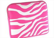 DreamWireless LT-EPU10-2HHPWTZ Tablet & Laptop Exotic Pouch Universal 26cm Horizontal Hot Pink & White Zebra