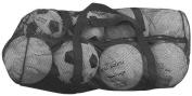 Olympia Sports BC085P 90cm . x 38cm . Zippered Mesh Bag - Black