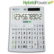 Teledex Inc. DD-770 Hybrid Power 12 Digit Desktop Calculator