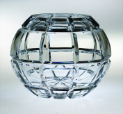 Majestic Gifts BL-120-7 Blossom 18cm . Crystal Rose Bowl