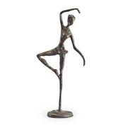 Danya B. ZD633S Standing Ballerina Bronze Sculpture