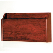Wooden Mallet XR-1MH X-Ray Wall Pocket in Mahogany