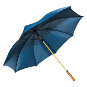 Elite Rain Frankford 2988WS-NB Wooden Shaft Golf Umbrella Navy Blue
