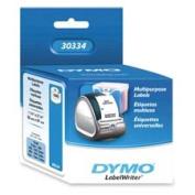 Dymo Corporation DYM30334 Multipurpose Labels- Medium- 2-.60cm .x 1-.60cm .- 1000-RL- White