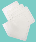Olympia Sports BS016P Poly Baseball Bases - White
