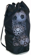 Olympia Sports PS662P 30H x 28W x 9D Soccer Ball Bag with Mesh Sides for Ventilation