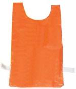 Olympia Sports SF323P Nylon Pinnie - Orange