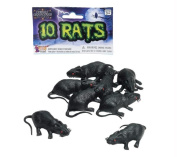 Costumes for all Occasions FM71304 Rats Set Of 10