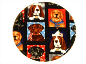 Andreas TR-294 Scottie Silicone Trivet - Pack of 3 trivets