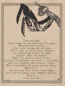 AzureGreen EPMANP Mantis Prayer Poster