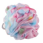 SEEKO Bath Sponge Pouffe Mesh Brush Shower Ball