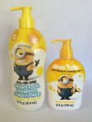 Minion All in One Shower Gel Moisturising Hand Soap Set
