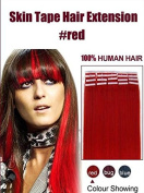 Futuretrend Wholesale Remy Tape Hair Extensions 20pcs/lot 41cm - 60cm Tape in Human Hair Extension Straight Brazilian PU Hair Skin Weft Hair