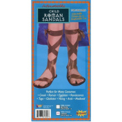 Child Roman Sandals Medium (US 1 -3) uk 0-2