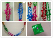 4pcs Christmas FOIL Garland Tree Ceiling XMAS Party Hanging Decorations 2.7M