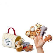 Dear Zoo Finger Puppets And Carrier