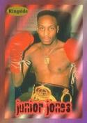 Autograph Warehouse 84415 Junior Jones Card Boxing 1996 Ringside No .52